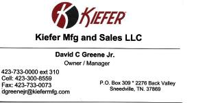 Kiefer Mfg