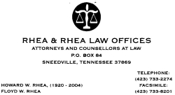 Rhea & Rhea Law Offices